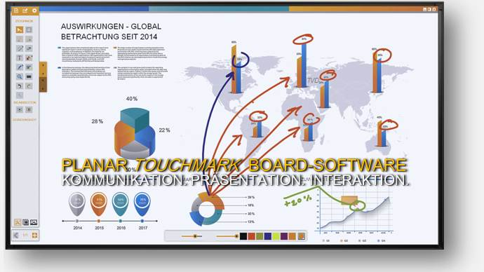 tvd news - planar touchmark whiteboard software - www.tvd.eu